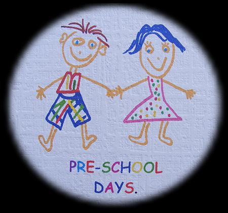 Pre-School Days photo folder
